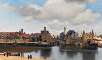 Puzzelman 1000 - Vermeer: Gezicht op Delft