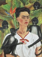 Piatnik 1000 - Frida Kahlo: Self Portrait with Monkeys