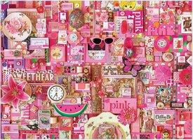 Cobble Hill 1000 - Colour Pink