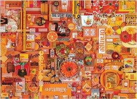 Cobble Hill 1000 - Colour Orange