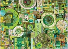 Cobble Hill 1000 - Colour Green
