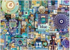 Cobble Hill 1000 - Colour Blue