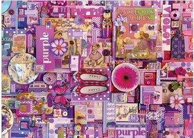 Cobble Hill 1000 - Colour Purple