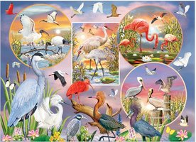 Cobble Hill 1000 - Waterbird Magic