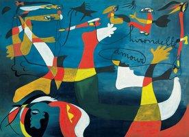 Eurographics 1000 - Joan Miro: Swallow, Love