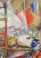 Eurographics 1000 - Chagall: Paris Through the Window