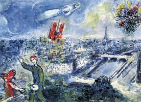 Eurographics 1000 - Chagall: View of Paris