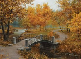 Eurographics 1000 - Autumn in an Old Park