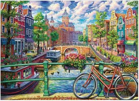 Cobble Hill 1000 - Amsterdam Canals