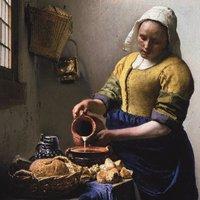 Johannes Vermeer- Het Melkmeisje (Outlet)