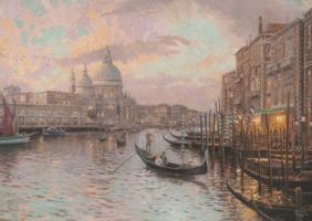 Thomas Kinkade 1000 - Venice, met glow in the dark effect