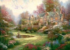 Thomas Kinkade 2000 - Gardens Beyond Spring Gate
