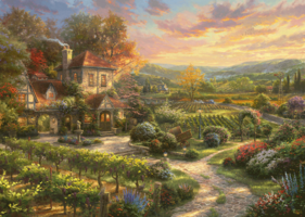 Thomas Kinkade 2000 - Wine Country Living