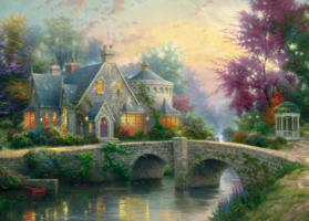 Thomas Kinkade 3000 - Lamplight Manor