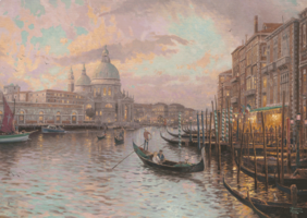 Thomas Kinkade 1000 - Venice, met glow in the dark effect (Outlet)