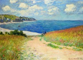 Eurographics 1000 - Monet: Path Through the Wheat Fields