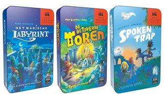 Drie Magiers: Set met 3 spellen, samen voor €14,99 (Outlet)