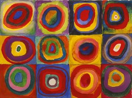 Eurographics 1000 - Kandinsky: Colour Study of Squares