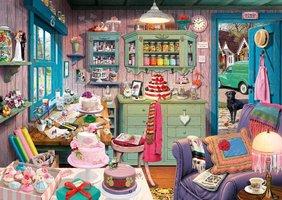 Secret Puzzle: Grootmoeders Kamer