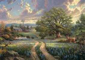 Thomas Kinkade 1000 - Country Living