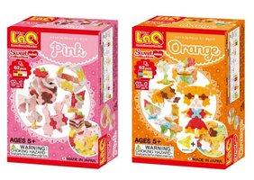 Voordeelset LaQ Sweet Collection Mini Pink en Orange