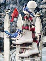 Cobble Hill 500 (XL) - Birds with Skates