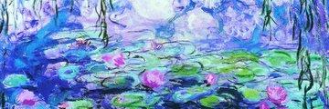 Eurographics 1000 Panorama - Waterlilies van Claude Monet