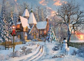 Eurographics 1000 - Christmas Cottage