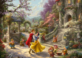 Disney: Snow White Dancing in the Sunlight