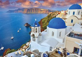 World's Smallest - Santorini