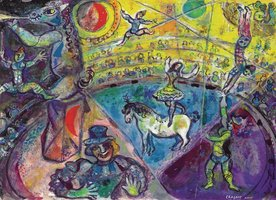 Eurographics 1000 - Chagall: The Circus Horse (Outlet)