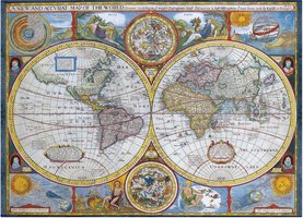 Eurographics 1000 - Antique World Map (Outlet)