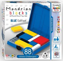 Ah!Ha: Mondrian Blocks Blue Edition