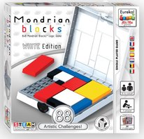 Ah!Ha: Mondrian Blocks White Edition