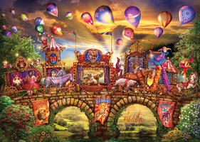 Puzzelman 1000 - Ciro Marchetti: Carnivalle Parade
