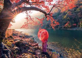 Educa 1000 - Sunrise in Katsura River Japan
