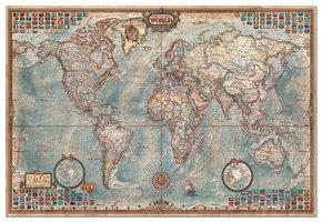 Educa 4000 - The World, executive map