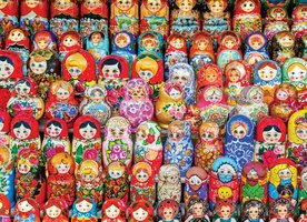 Eurographics 1000 - Russian Matryoshkas Dolls