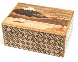 Japans Puzzelkistje 7 stappen Sansui (Fuji and Camellia)