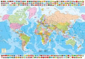 Educa 1500 - Political World Map