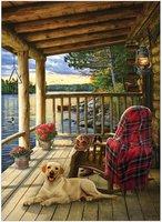 Cobble Hill 1000 - Cabin Porch