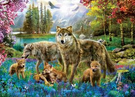 Eurographics 500 (XL) - Wolf Lake Fantasy (Outlet)