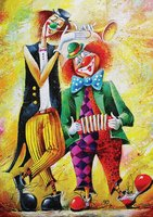 Art Puzzle 260 XL - Musician Clowns