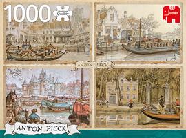 Jumbo 1000 - Anton Pieck: Boten in de Gracht
