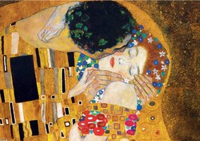 Eurographics 1000 - Gustav Klimt: The Kiss (detail)