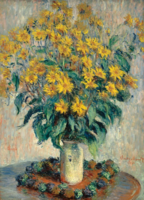 Eurographics 1000 - Monet: Jerusalem Artichoke Flower