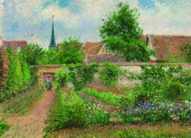 Eurographics 1000 - Camille Pissarro: Vegatable Garden Overcast