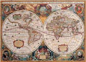 Eurographics 1000 - Antique World Map