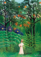 Eurographics 1000 - Henri Rousseau: Woman Walking in an Exotic Forest