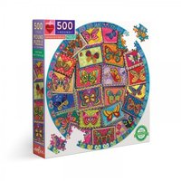 eeBoo 500 (XL) - Vintage Butterflies